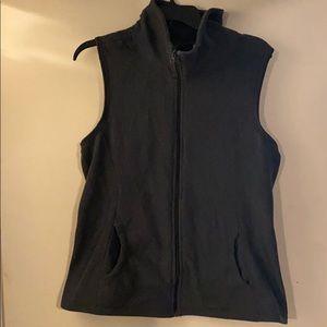 Dark Grey Old Navy Fleece Vest